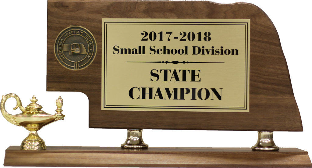 State Championship Trophy
