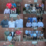 Photo collage of reunion photos