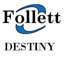 Destiny Library Catalog Logo and Link