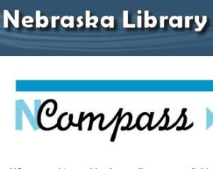 NCompass Logo with link to Nebraska Library Commission online presentations Archive