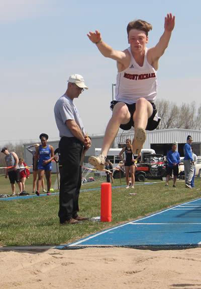 Photo of Joe Hitzemann jumping
