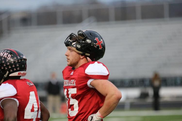 Photo of Garrett Hustedt at Shrine Bowl