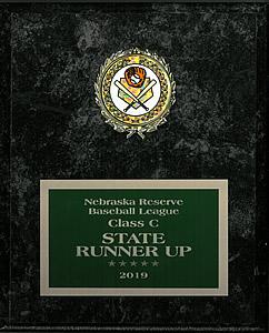 State Runner-up Nebraska Reserve Baseball League