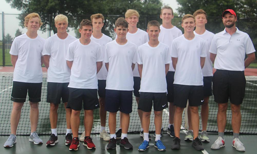 2019 Varsity Tennis Team