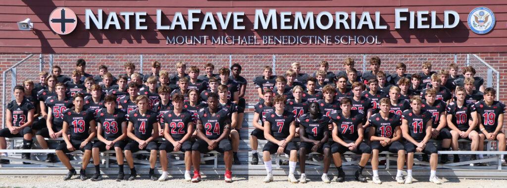 2022 Mount Michael Football Team Photo
